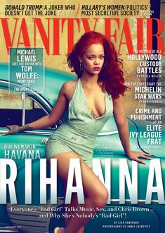 Rihanna in Cuba Cover photo by Annie Leibovitz