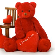 I Miss You Teddy Bear Cover Photo wallpapers