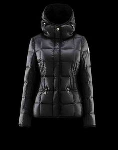 Women's Moncler Jacket Buis Black on wholesale