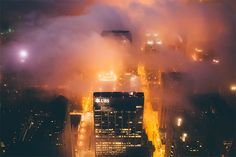 Chicago in the Fog: Photos by Michael Salisbury | Inspiration Grid | Design Inspiration