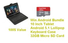 Win a 10 inch Android Tablet Bundle
