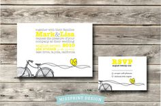 DIGITAL DIY Printable Wedding Invitation  by missprintdesign, $50.00