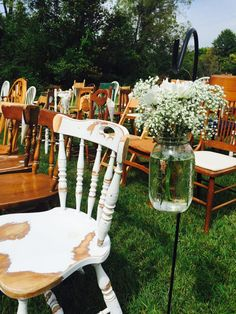 Seating — Something Old Event Rentals