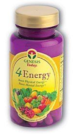 """4 Energy - 60 - Capsule by Genesis. $19.60. The only B-Complex product formulated with Triphala, Adrenal  Gland Tissue, L-Tyrosine, Chinese Thoroughwax Root and much more.   Contains Triphala. According to Michael Tierra C.A., N.D.'s book,   Planetary Herbology, pg. 132; """"taken regularly, Triphala promotes the   absorption and utilization of the B Vitamins...""""    Contains nutrients that are essential in converting food into energy    Supports healthy hair, skin and nail growth... Health And Wellness, Health And Beauty, Health Fitness, Get Healthy, Healthy Hair, Genesis 19, L Tyrosine, Nail Growth, Adrenal Glands"""
