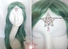 Tiara estrella de los elfos de FairyCaveShop en Etsy