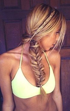 Summer Braids :: Beach Hair :: Natural Waves :: Long + Blonde :: Messy Manes :: Free your Wild :: See more Untamed DIY Simple + Easy Hairstyle Tutorials + Inspiration Summer Hairstyles, Pretty Hairstyles, Braided Hairstyles, Wedding Hairstyles, Formal Hairstyles, Fashion Hairstyles, Hairstyles Haircuts, Summer Braids, Beach Braids