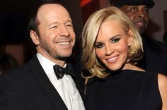 Jenny McCarthy tearily reveals she's engaged to Donnie Wahlberg Main Image, Jenny Mccarthy, Whoopi Goldberg, Donnie Wahlberg, Wife And Kids, Famous Couples, Significant Other, Celebrity Couples, New Kids