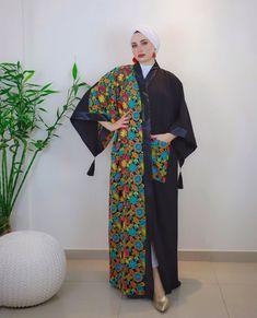 Elegant And Modern Abaya Designs - Zahrah Rose Modest Fashion Hijab, Street Hijab Fashion, Abaya Fashion, Muslim Fashion, Dubai Fashion, Kaftan Designs, Modern Abaya, Mode Kimono, Latest African Fashion Dresses