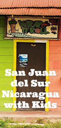 San Juan del Sur is a small coastal town in Nicaragua that is a wonderful family vacation spot with tons of things to do with kids. There are plenty of things to do with kids in San Juan del Sur Nicaragua. Here are our favorites!   #travel #nicaragua #sanjuan #beach #vacation #culture