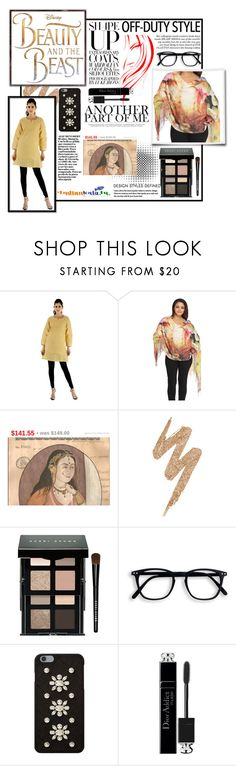 """""""Indianakala4u 4"""" by soofficial87 ❤ liked on Polyvore featuring Disney, Urban Decay, Bobbi Brown Cosmetics, MICHAEL Michael Kors, Christian Dior and vintage"""