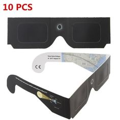 28706259649 10pcs Solar Eclipse Glasses Paper Frame