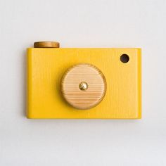 Toylander, children's wooden toy camera toy.. £15.00, via Etsy.