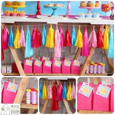 Peppa Pig Twins Party with LOTS of CUTE IDEAS via Kara's Party Ideas | KarasPartyIdeas.com #Pig #Party #Ideas #Supplies (13)