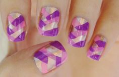 Artificial nails designs | Acrylic nail ideas | Fake nail designs 2012 | Acrylic nail tip colors