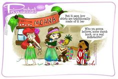 Pocket princesses 181 - Welcome Moana!