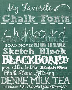Chalk Text Effect 1