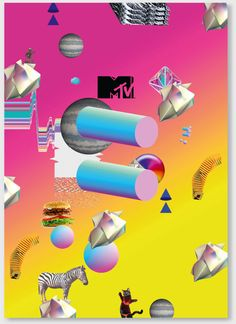 fluidesign.co.uk   Graphic Design for MTV Kill Boring - European Brand Identity Kit