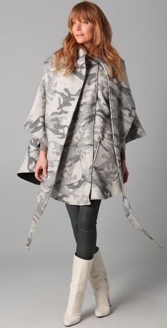 Lindsey Thornburg Mid Length Cloak thestylecure.com