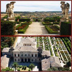 villa buonaccorsi, potenza picena Palace Garden, Palaces, Villas, Mansions, House Styles, Italia, Palace, Manor Houses, Villa