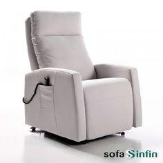 Sillón relax modelo Saxo fabricado por Reyes Ordoñez en Sofassinfin.es