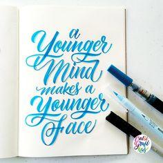 calligrafikas:  For those who doesn't want to get old  #calligrafikas #grafikas…