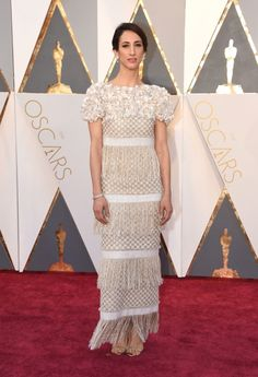 The Vogue team's best dressed at the 2016 Oscars: Deniz Gamze Erguven in Chanel haute couture.