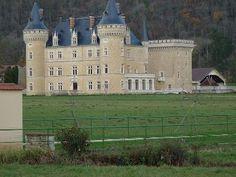 Chateau de Cornod - between Thoirette and Arinthod, Jura