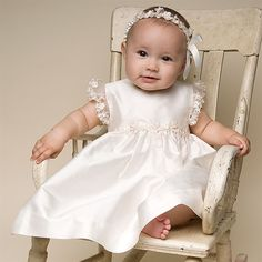 Leila Christening Dress. Christening Dresses
