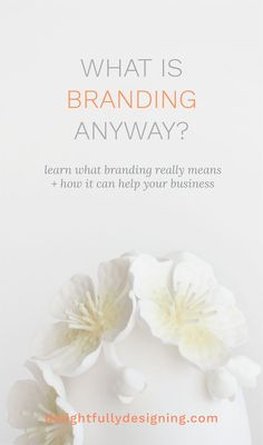 So what is branding? Branding is more than a well-designed logo and a pretty color palette paired with trendy fonts and it can really change your business.