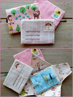 Little Letter Needle Book (no tutorial)