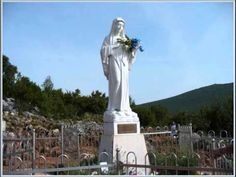 About two months ago, a group of my friends from church made the pilgrimage to Medjugorje where the Blessed Virgin Mary has been appeari. Blessed Mother Mary, Blessed Virgin Mary, Our Lady Of Medjugorje, Catholic Online, Album Songs, Patron Saints, Travel And Leisure, Bosnia And Herzegovina, Pilgrimage