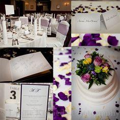 Purple Wedding Theme Image Lynne Kennedy Photography
