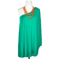 Sex and the City Dress in Green