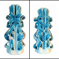 Bougie sculptée,bougie artisanale,bougie fait main,bougie décorative
