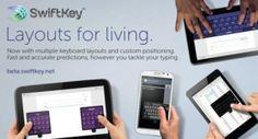 Kostenlose Beta mit neuen Tastatur-Layouts, vereinigt Tablet- und Smartphone-Version
