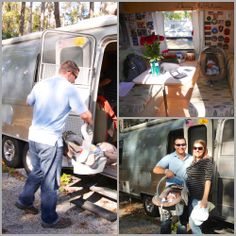 His First Home was an Airstream - Home Coming. www.LeavingTheRut.com