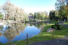 Японский сад в Таллине.