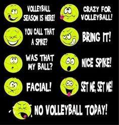 Vball Emoji !