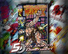 MARVEL COMICS PRESENTS # 82  OTRA DE LAS PARTES DE WEAPON X, EL ORIGEN DEL ADAMANTIUM DE WOLVERINE. IMPRESCINDIBLE.  $ 150.00  Para más información, contáctanos en http://www.facebook.com/la5aDimension