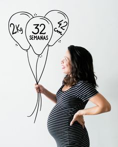 Bebê crescendo firme e forte #oliviaDN #gravidezcarladaqui #32semanas #8meses