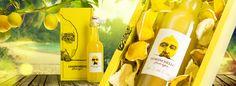 Дизайн упаковки итальянского лимонного ликёра . Слайд № 1