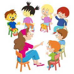 Met z'n allen in de klas. Activiteitenkaart Pom pom voor uitgv. Zwijsen. Children, Early Education, Teachers, School, Illustrations, Blue Prints, Studying, Young Children