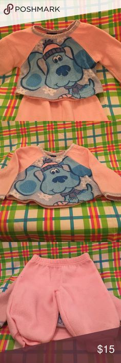 ❌❌❌Price cut❌❌❌Winter outfit Blues Clues fleece suit Nickelodeon Matching Sets