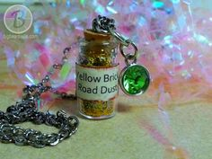 """Big Bear's Wife {Recipes that are Angie Tested and BigBear Approved!}: How to Make a Snow White / """"Poison Apple Dust"""" Bottle Necklace"""