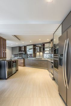 Luxury Kitchen Design, Kitchen Room Design, Dream Home Design, Luxury Kitchens, Home Decor Kitchen, Interior Design Kitchen, House Design, Tuscan Kitchens, Mansion Interior