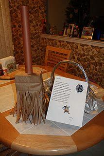 Befana Broom Candy Bag