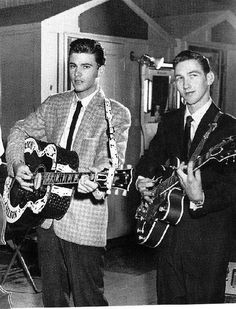 Ricky Nelson and James Burton- I met James Burton much later but never Ricky.