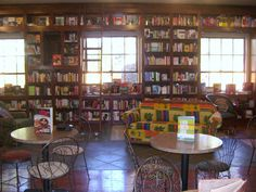 Storiebook Cafe - Bookstore & Cafe - Glen Rose, Texas Restaurant    If I had a bookstore it would be something like this.