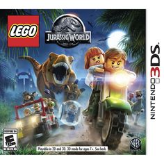 LEGO Jurassic World 3DS [Brand New]  Item specifics  Condition:  Brand New: An item that has never been opened or removed from the manufacturers sealing (if applicable). Item  Platform:  Nintendo 3DS  MPN:  CTR-BLJE-USA  Release Year:  2015  Publisher:  Warner Home Video Games  Genre:  Action/Adventure  UPC:  883929472857  Game Name:  LEGO Jurassic WORLD  EAN:  0883929472857  LEGO Jurassic World 3DS [Brand New]  Product Details  Product Identifiers  Publisher  Warner Bros. Interactive  Game…