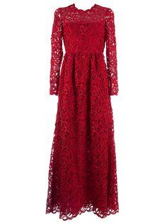 Valentino Crochet Maxi Dress